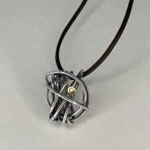Sølv og læder